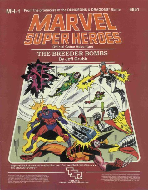Marvel Role playing game