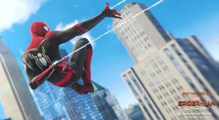 spiderman lejos de casa y ps4