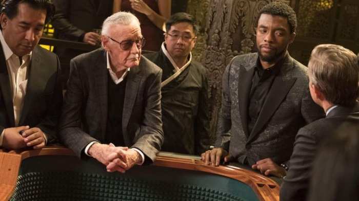 stan lee en black panther