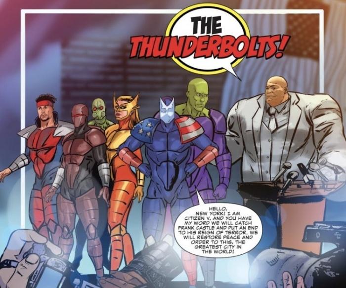 Presentación Thunderbolts 2019