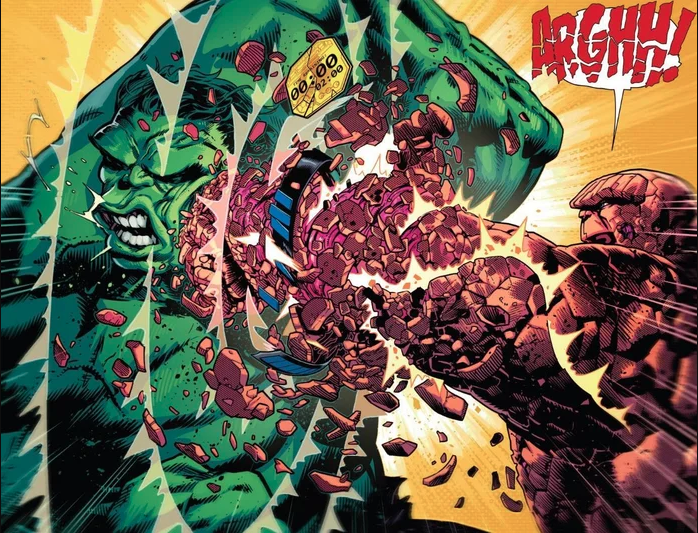 The Things vs Hulk