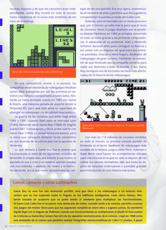 Efecto Tamagotchi Nintendo