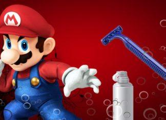 Super Mario afeitado - destacada