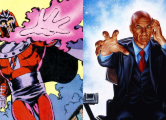 Magneto and Charles Xavier