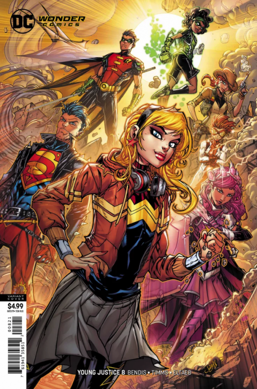 Young Justice Bendis