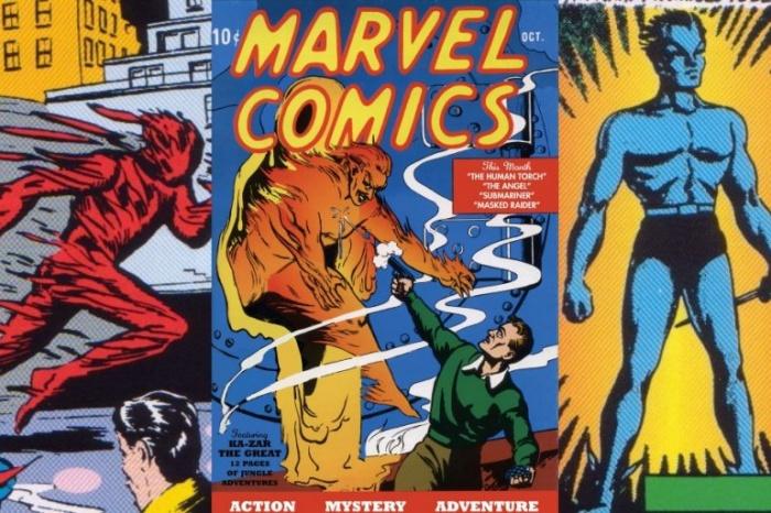 marvel comics 1 publicacion 1939