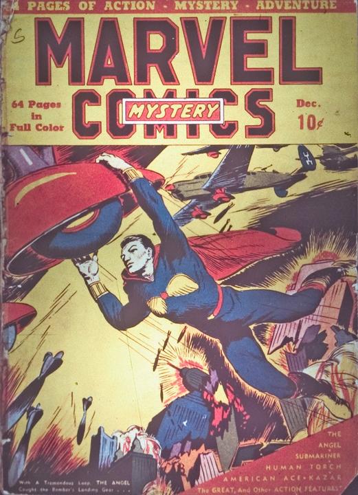 marvel mistery comics 2