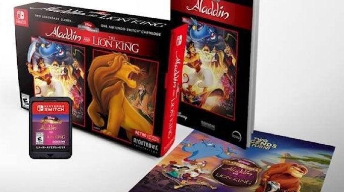 Aladdin y El rey león