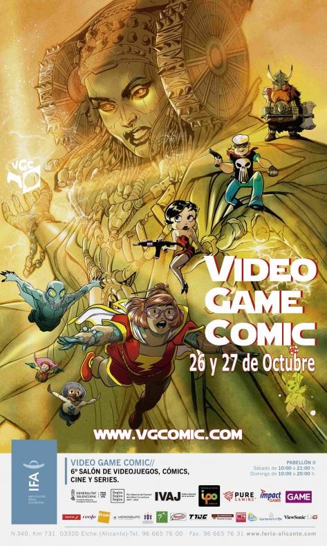 Cartel VGCómic 2019