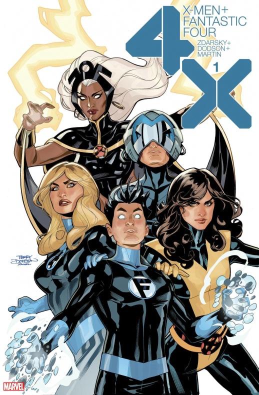 Portada X-Men-Fantastic Four #1