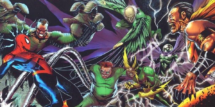 seis siniestros spider man largo anos