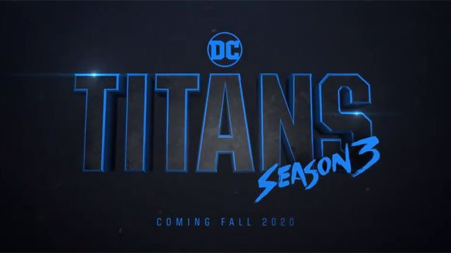 Titans Season 3 announcement