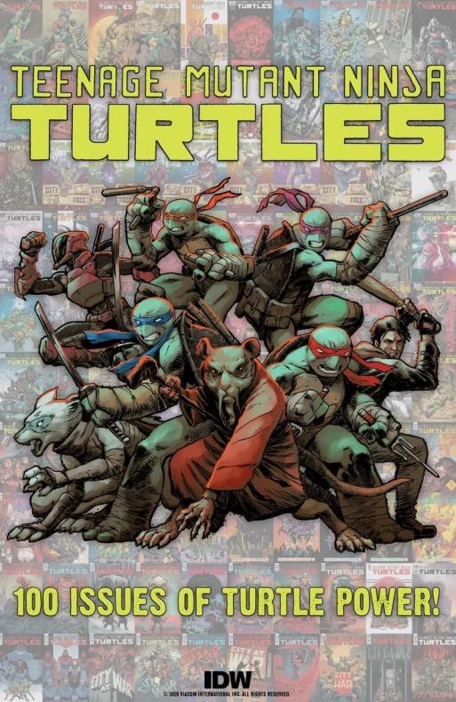 Tortugas NInja 100