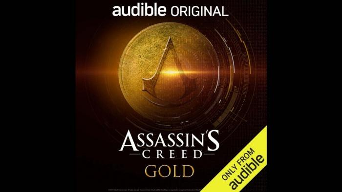final assassins creed gold audible cover art h 2019