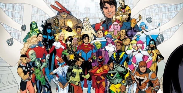 legion of super heroes header