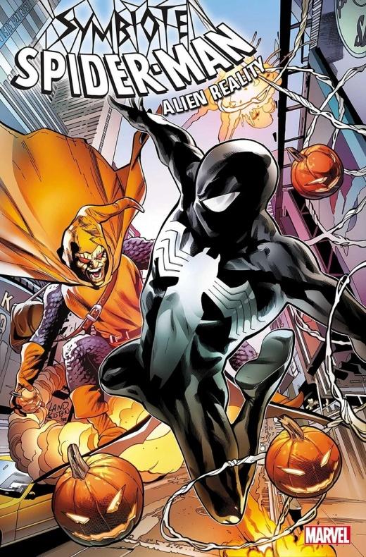 symbiote spider man cover