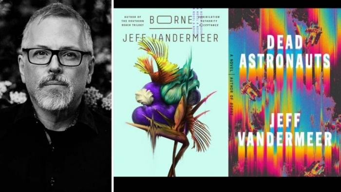 jeff vandermeer and book split h 2019