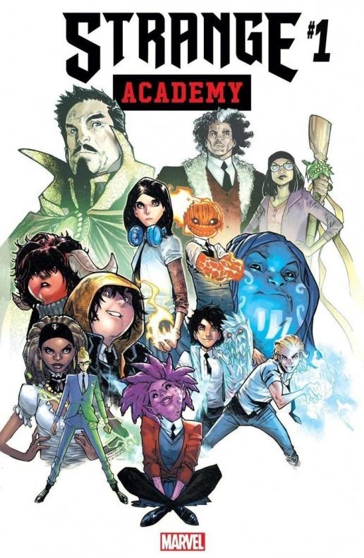 marvel strange academy 1 cover art 1198797