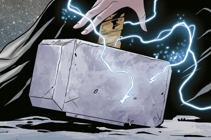 mjolnir avengers endgame thor capitan america cover 2