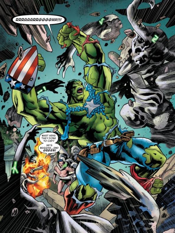 tarot captain america hulk transformation