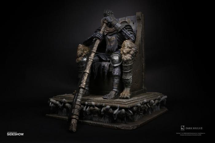 yhorm on throne dark souls gallery 5dfd00c9a0b0b