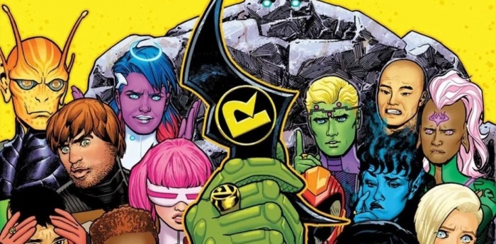 Robin - Legion de Superheroes