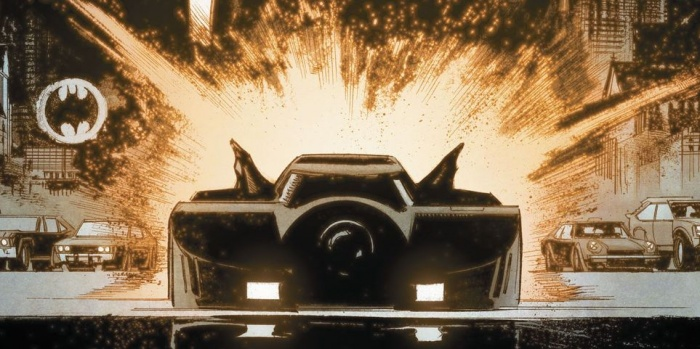 Batman White Knight Burton 89 Batmobile