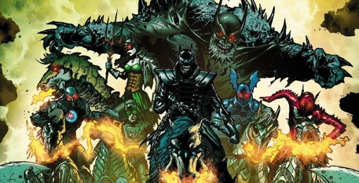 Dark Knights Metal Cropped