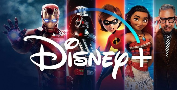 Disney Logo with Characters