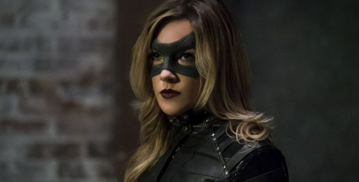 Katie Cassidy as Black Canary on Arrow