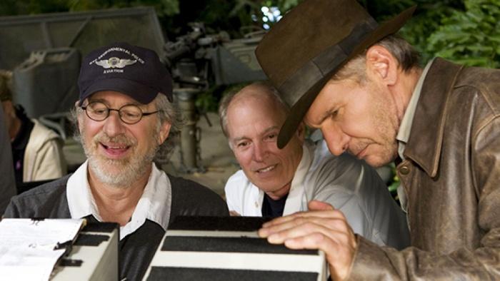 Steven Spielberg Harrison Ford Indiana Jones