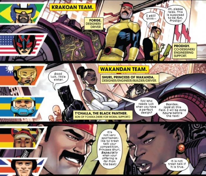 marvels voices x men krakoa vs black panther wakanda