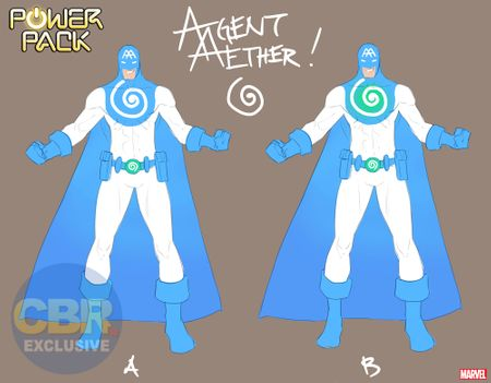 Agent Aether design