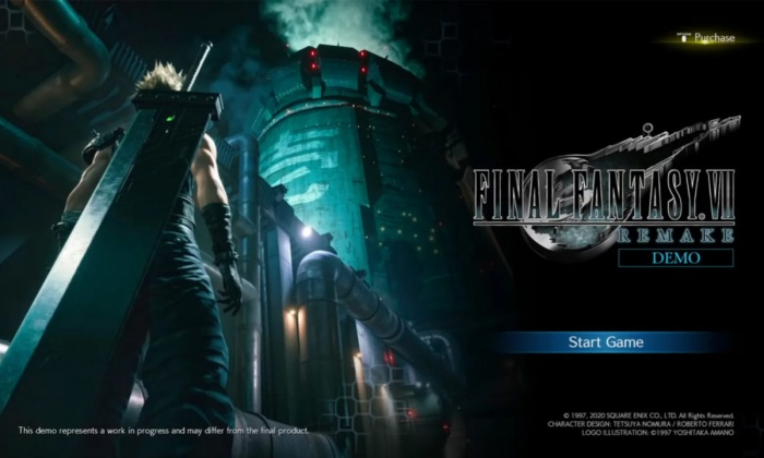 Final Fantasy VII Remake Demo PS4 e1578057540175