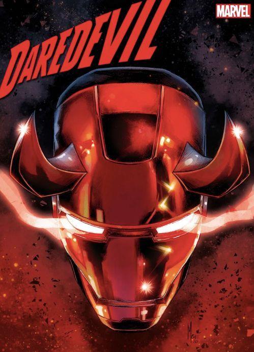 Portada Daredevil 22 - ¿Es Matt Murdock el nuevo Iron Man?