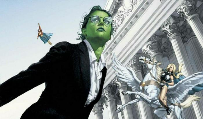She-Hulk - Hulka - destacada