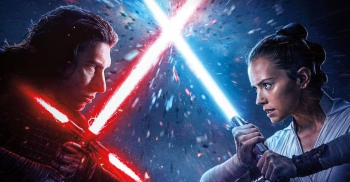 rise of skywalker rey vs kylo2