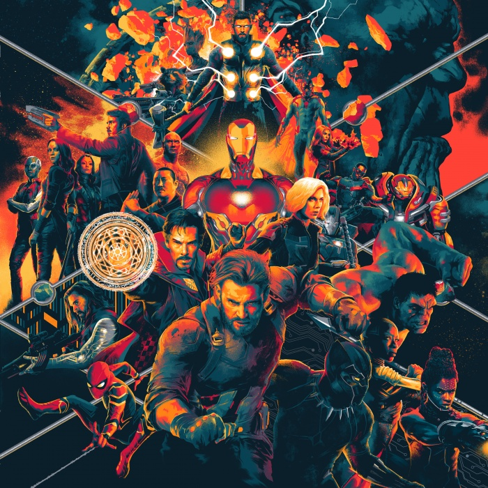 3. Avengers IW cover