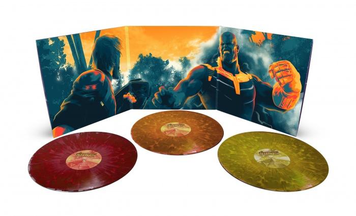 4. Avengers IW gatefold spread