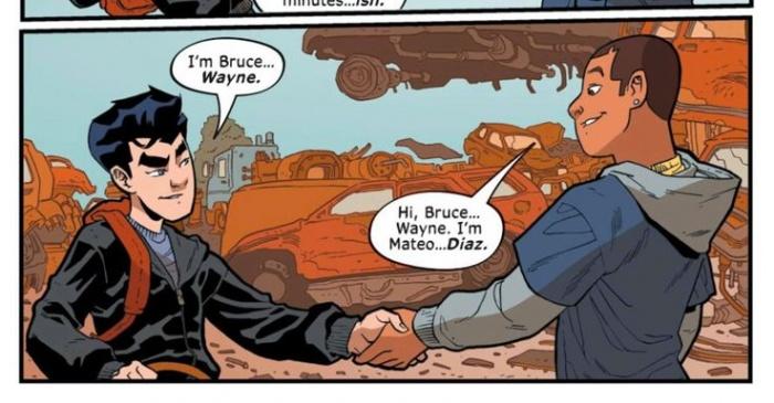Batman Overdrive Mateo Diaz