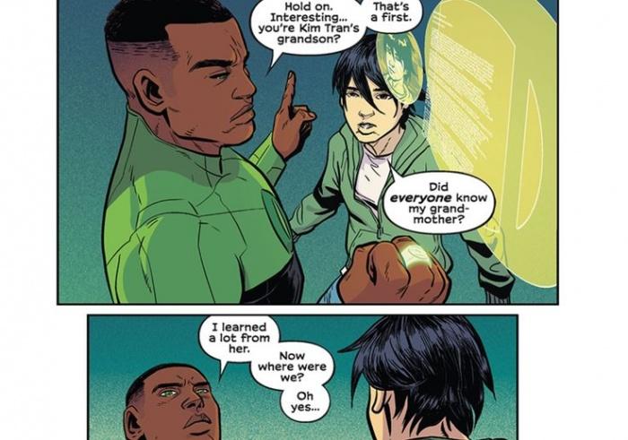 Green Lantern Legacy Tai and John