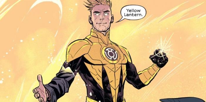 Green Lantern Legacy Yellow Lantern