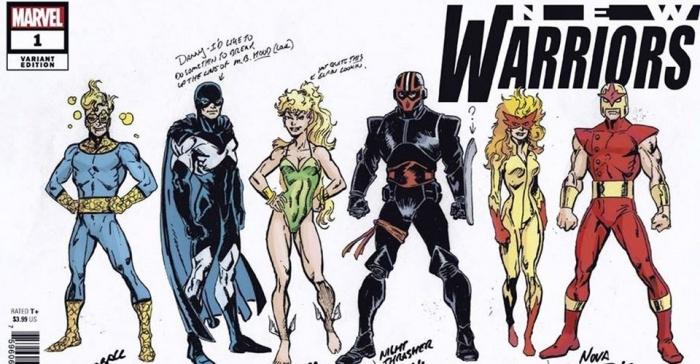 New Warriors Mark Bagley Cover
