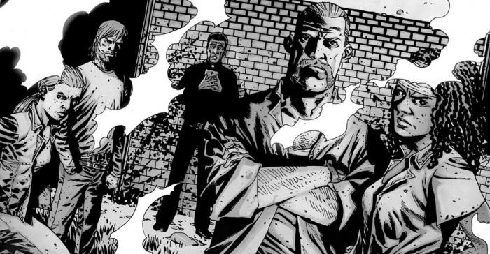 the walking dead comic book cast charlie adlard
