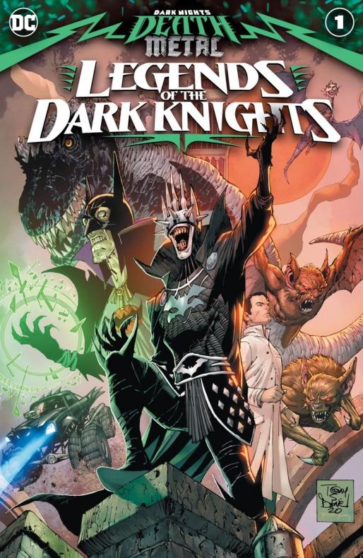 dark nights death metal legends of the dark knights