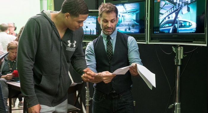 justice league bts ray fisher zack snyder