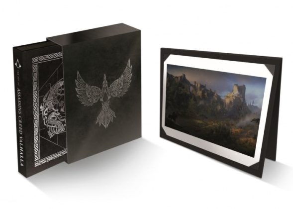 the art of assassins creed valhalla decorative slipcase and lith 1222183