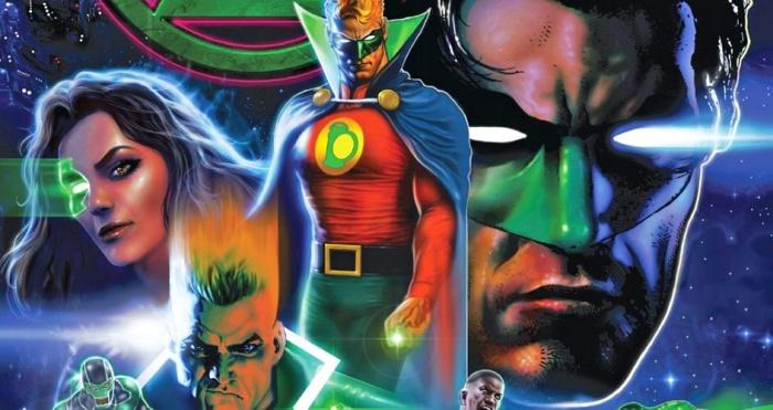Green Lantern feature