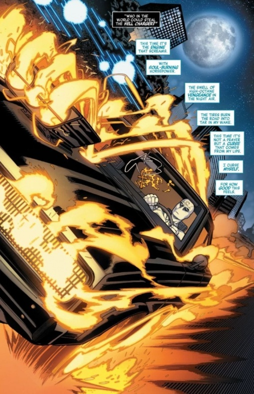 avengers age konshu moon knight steal ghost rider car 1223484