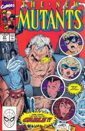 cover homage 5 liefeld 1 new mutants 87